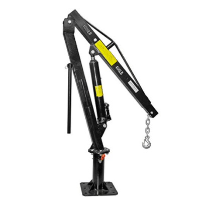 Pickup Truck Bed Jib Crane Lift Hoist Review