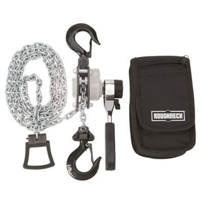Roughneck Manual Lever Chain Hoist review