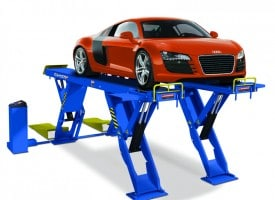 scissor style car lift