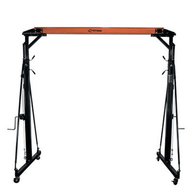 Titan Adjustable Gantry Crane Review