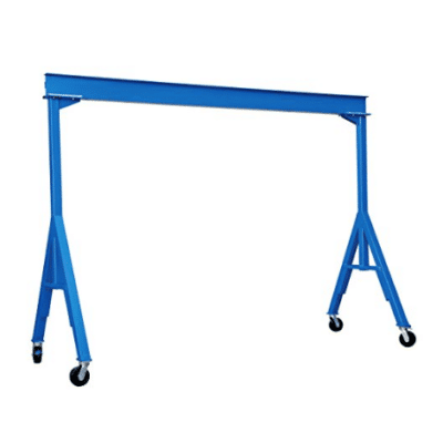 Vestil FHS-4-10 Fixed Height Steel Crane Review