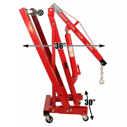 Dragway Tools Folding Hydraulic Engine Hoist Review