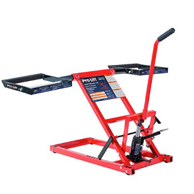 Pro-Lift T-5355A Lawn Mower Lift Review