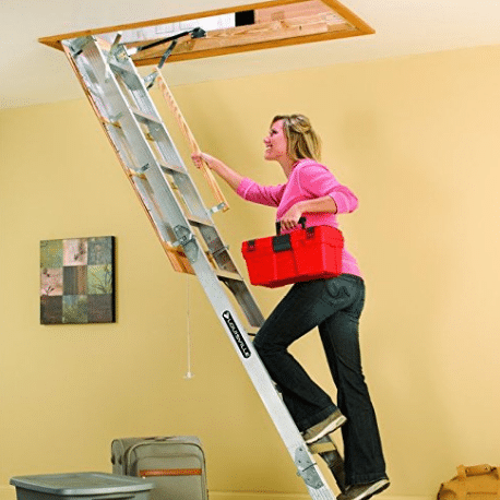 Tall Ceiling Attic Ladder Taraba Home Review