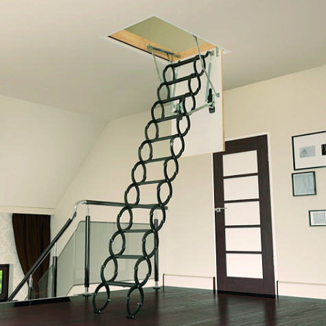 Fakro Steel Scissor Attic Ladder Review