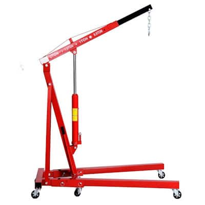 Goplus 2 TON 4000 lb Engine Hoist Stand Cherry Picker Ship Crane review