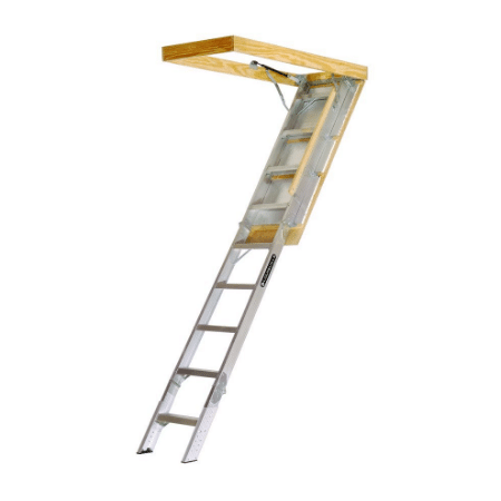 Merveilleux Louisville Elite Aluminum Attic Ladder Review